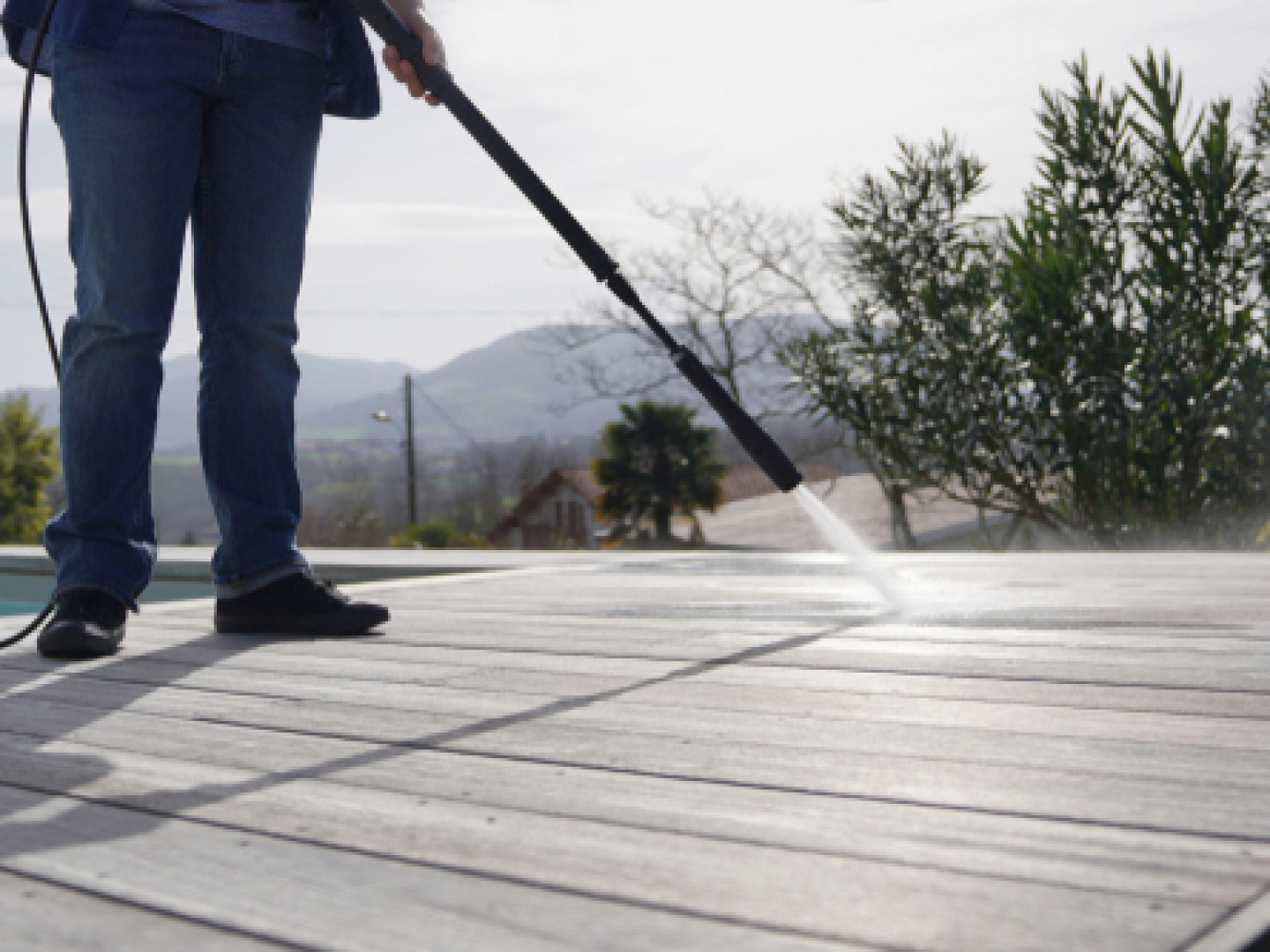 Get Rid of Stubborn Dirt and Grime after a long, messy winter